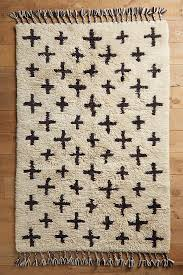 Anthropologie Kitchen Rug Moroccan Cross Rug Anthropologie
