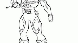 Power Rangers Samurai Drawing How To Draw Wolf Ranger From Power Power Ranger Jungle Fury Coloring Pages