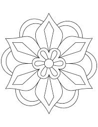Awesome Picture of Rangoli Coloring Page  Coloring pages for Adults