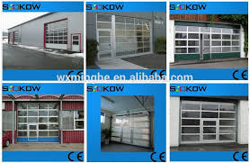 Glass Overhead Garage Doors Aluminum Garage Glass Door Overhead Glass Garage Door Aluminum