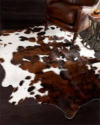 Cow Print Rugs Cruelty Free Floor Budget Friendly Diy Faux Cowhide Rug U2013 It U0027s