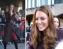 kate brings back another christmas classic on solo visits to