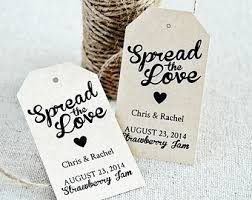Thank You Tags Wedding Favors Templates by Spread The Tag Etsy