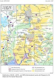 Blm Maps Oil Shale And Tar Sands Peis Maps