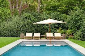 Hamptons Style Outdoor Furniture - here are the latest trends in hamptons pool design curbed hamptons