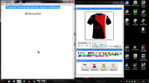 desain kaos futsal di photoshop tutorial membuat jersey baju bola dengan smart shirt designer