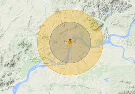 black friday target map what a us nuclear strike on north korea would look like