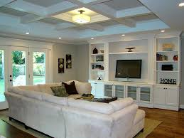 Built In Cabinets Living Room by Perfect Living Room Layout For Our House Small Coffered Ceiling