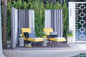 Outdoor Privacy Curtains Add Privacy To Your Porch With Deck Privacy Screens Improvements