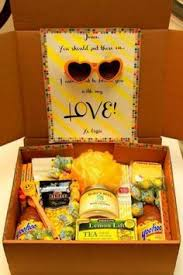 cheer up care package the basket is from the dollar store as are the hearts on the
