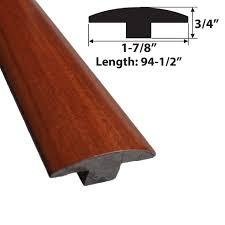 Laminate Floor Molding Santos Mahogany T Molding Hd Trim Simplefloors San Jose Flooring