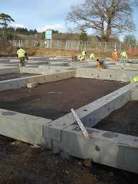 cpm bespoke precast concrete ground beams are usually square or