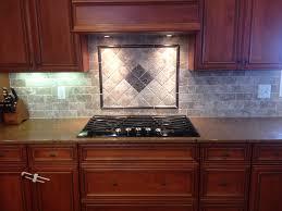 kitchen backsplash behind stove medallion show me your subway