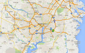 Washington Dc Airports Map Andrews Afb Map And Directions Joint Base Andrews