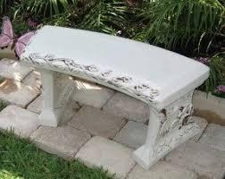 Concrete Patio Bench Concrete Memorial Benches Foter