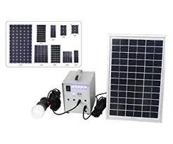 solar dc lighting system amazon com 20w solar power system 12v dc input 10 watts solar kit