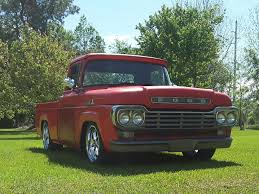 Classic Ford Truck Enthusiasts - test sig and pics red 59 f100 shortbed ford restomod ratrod ford
