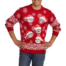 santa cat s sweater walmart