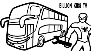 bus coloring pages free double decker bus double decker bus