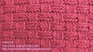 basket stitch free knitting tutorials knitting pattern 8