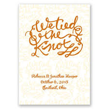 knot wedding the knot wedding announcement invitations by