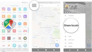 Googple Maps How To Share Your Location In Google Maps Android Central