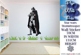 wall decals stickers home decor home furniture diy star wars wall sticker galactic storm trooper kids bedroom wall decal mural