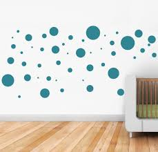 polka dots wall stickers scatter dots around your room for a fun polka dots vinyl wall sticker in by vinyl impression