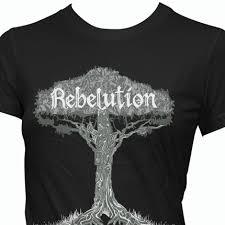 rebelution women u0027s graphic tee tree bright side of life reggae