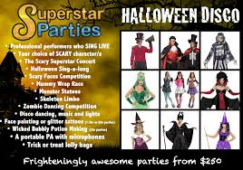 manly halloween party scary characters and halloween super star parties