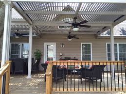 Louvered Roof Pergola by Photo Gallery Palmetto Outdoor Spaces Llc