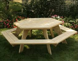 Plans For Building A Wood Picnic Table by Exteriors Outdoor Picnic Bench Nice Picnic Tables Barbecue Table