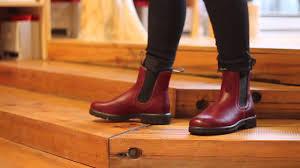 blundstone womens boots canada blundstone s series in burgundy rub