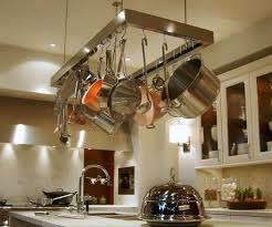 oil rubbed bronze pot rack with lights best 25 hanging pans ideas on pinterest pots pot rack within designs
