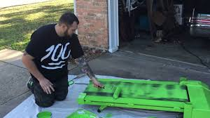 how to paint a treadmill for green screen youtube