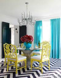 Teal Dining Table 85 Best Dining Room Decorating Ideas And Pictures