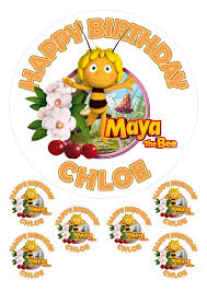 personalised maya bee 7 5