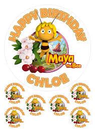 personalised maya bee 7 5