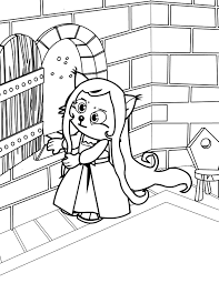 tangled coloring book rapunzel coloring page handipoints