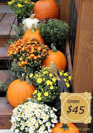 fall decorations for outside outdoor fall decorating ideas yard utnavi info