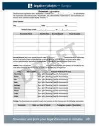 free roommate agreement template real estate purchase agreement create a free agreement