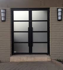 Steel Exterior Doors With Glass Eurofineline By Colletti Design Steel And Glass Front Doors
