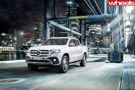 mercedes jeep 2018 2018 mercedes benz x class revealed wheels