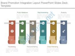 brand promotion integration layout powerpoint slides deck template