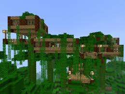 Treehouse Design Software by Jungle Tree House Minecraft Creations Pinterest Jungle Tree