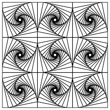 op art coloring pages fractal art coloring pages photo 38377 gianfreda net