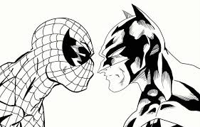coloring pages exquisite spiderman coloring amazing pages
