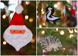 felt christmas ornaments buzzmills