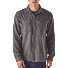 Most Comfortable Flannel Shirt Patagonia Men U0027s Long Sleeved Fjord Flannel Shirt