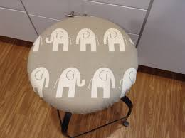 Round Bar Stool Covers Round Barstool Covers Spikids Com